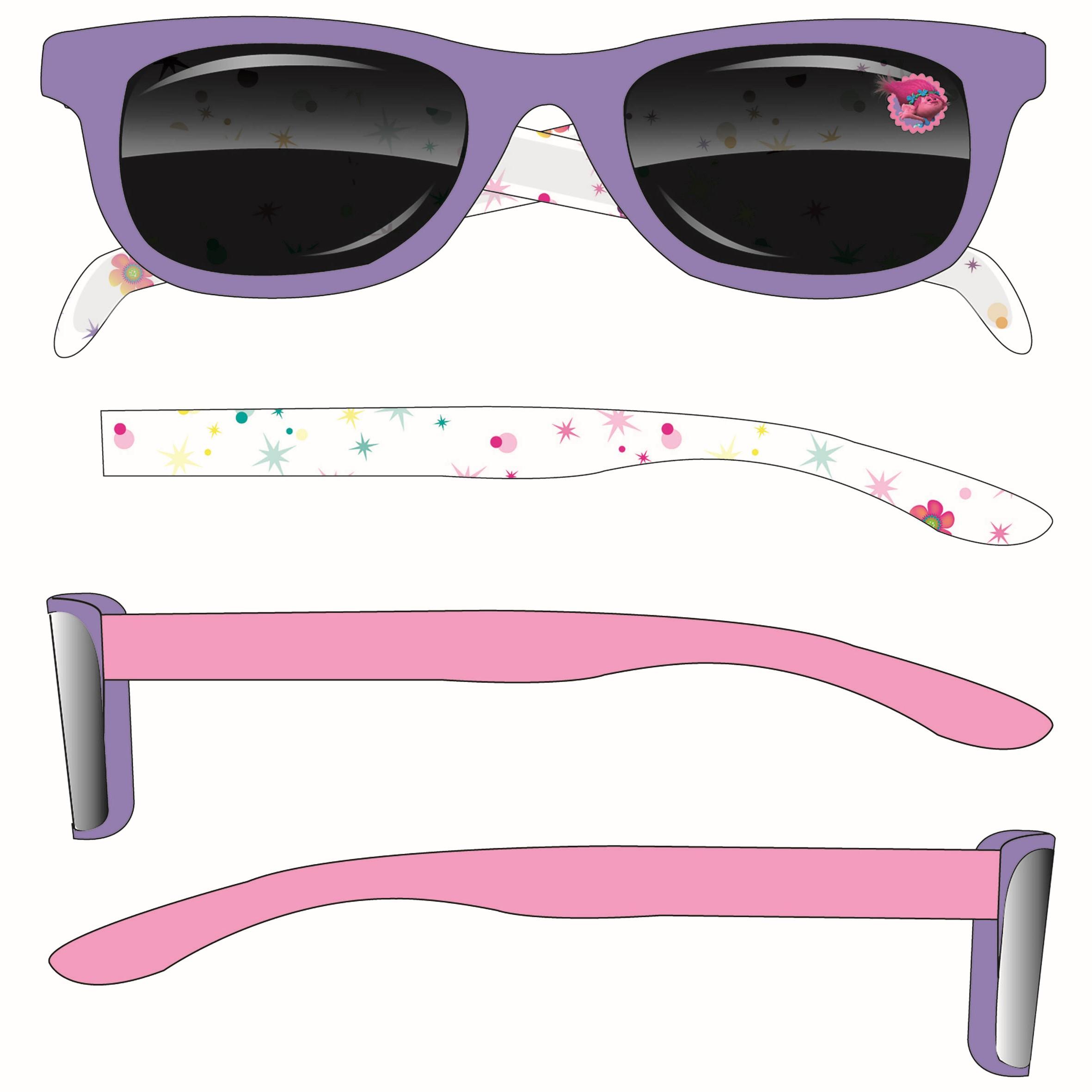 Van der Meulen 0894617 Bambini Wayfarer Moda occhiali da sole