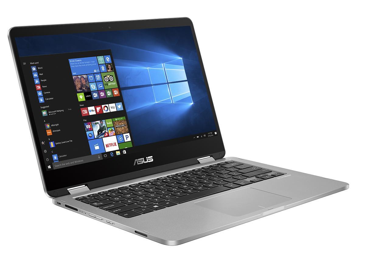 "ASUS VivoBook Flip TP401CA-EC031T 1GHz m3-7Y30 14"" 1920 x 1080Pixel Touch screen Grigio Ibrido (2 in 1)"