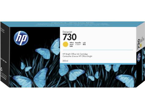 HP 730 300ml Giallo cartuccia d