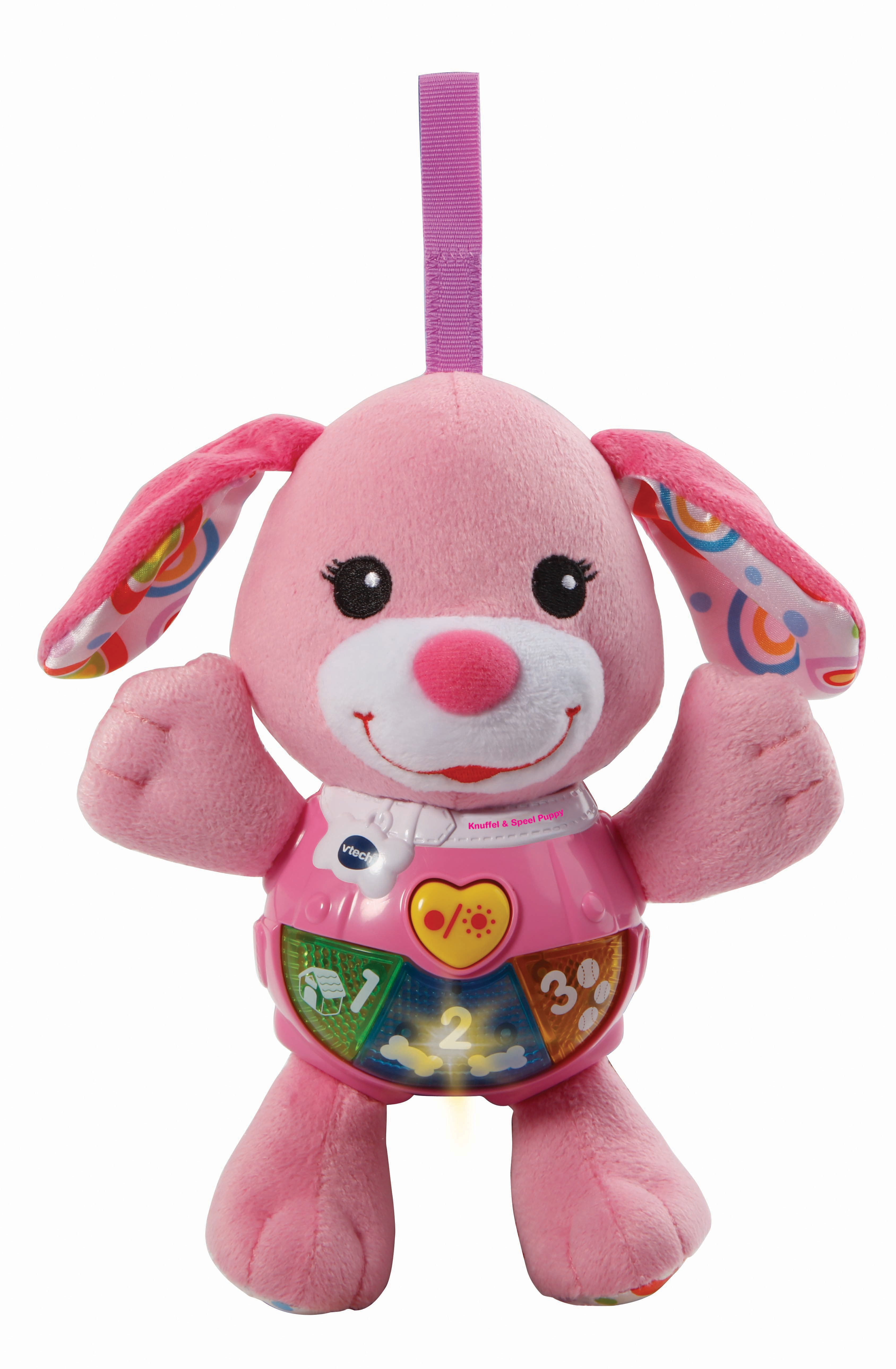 VTech Baby Knuffel & Speel Puppy roze Ragazza giocattolo educativo