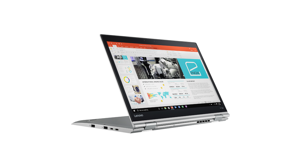 "Lenovo ThinkPad X1 Yoga 2.7GHz i7-7500U 14"" 2560 x 1440Pixel Touch screen Argento Ibrido (2 in 1)"