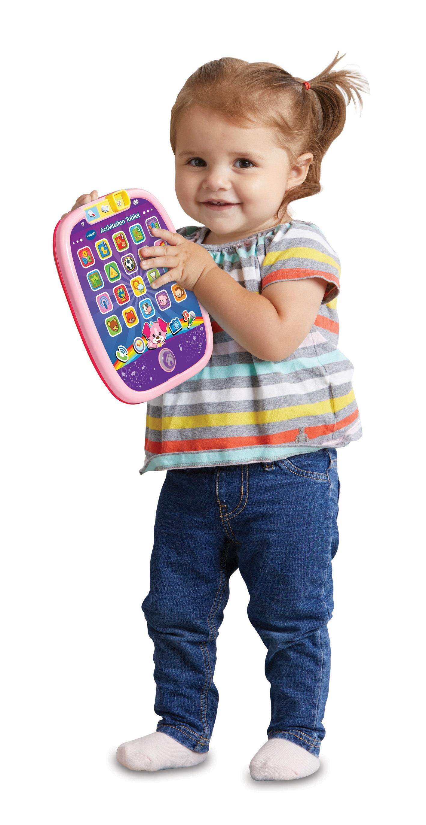 VTech Baby Activiteiten Tablet roze Ragazza giocattolo educativo