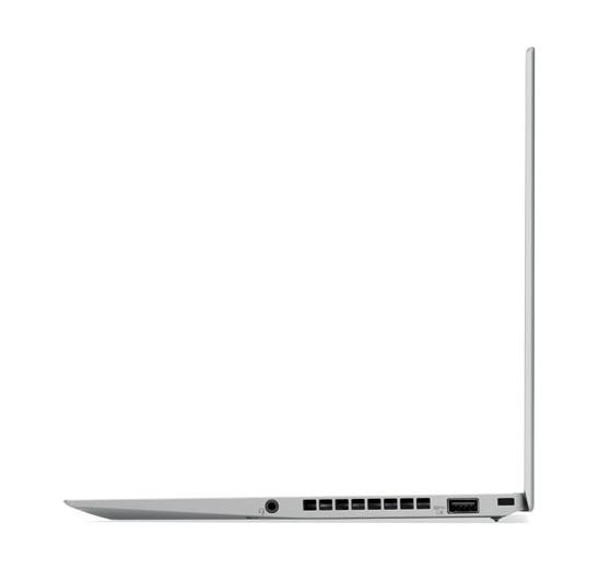"""Lenovo ThinkPad X1 Carbon 2.7GHz i7-7500U 14"""" 2560 x 1440Pixel Nero, Argento Computer portatile"""