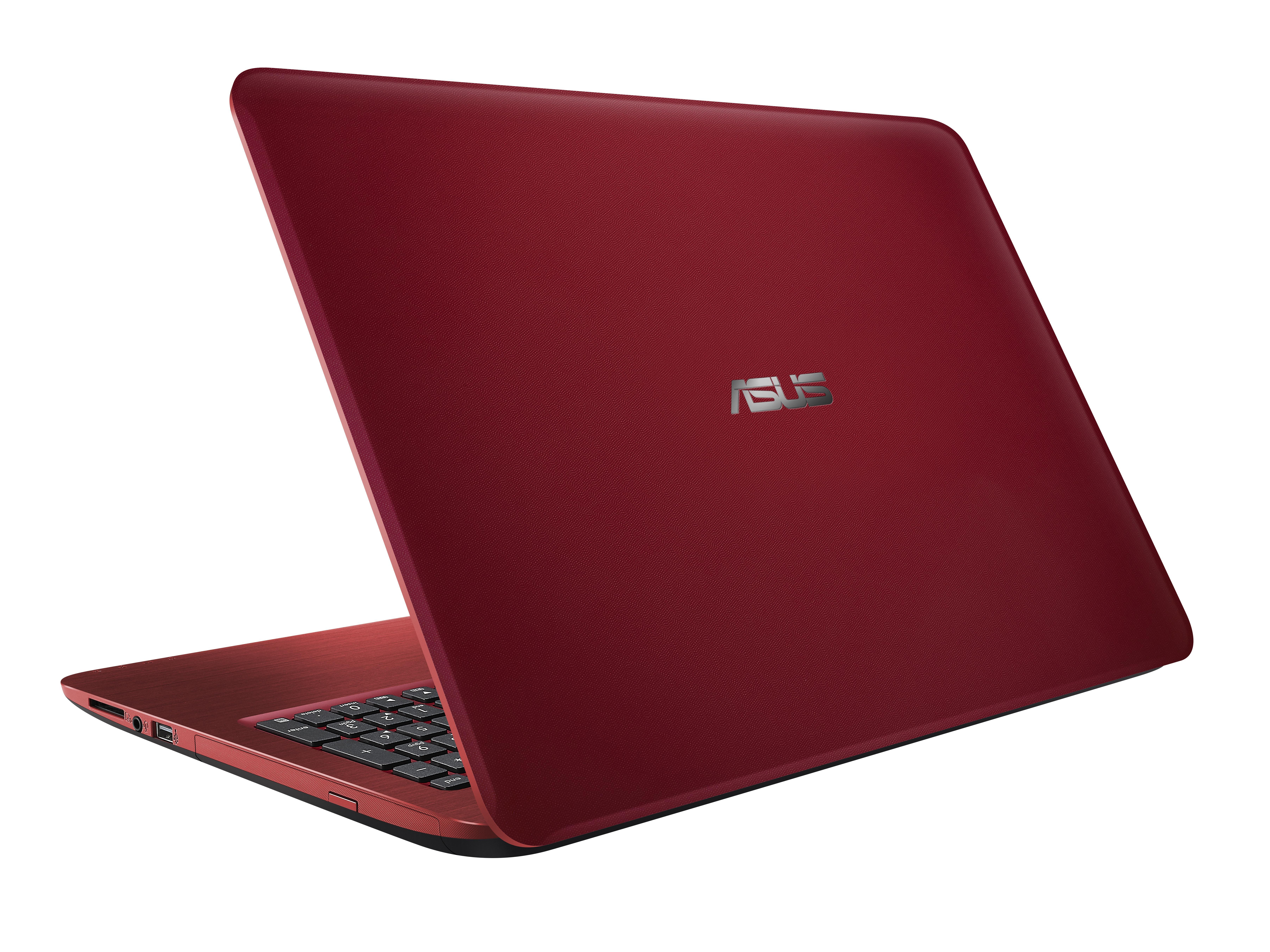 """ASUS R558UQ-XO852T 2.5GHz i5-7200U 15.6"""" 1366 x 768Pixel Rosso Computer portatile"""