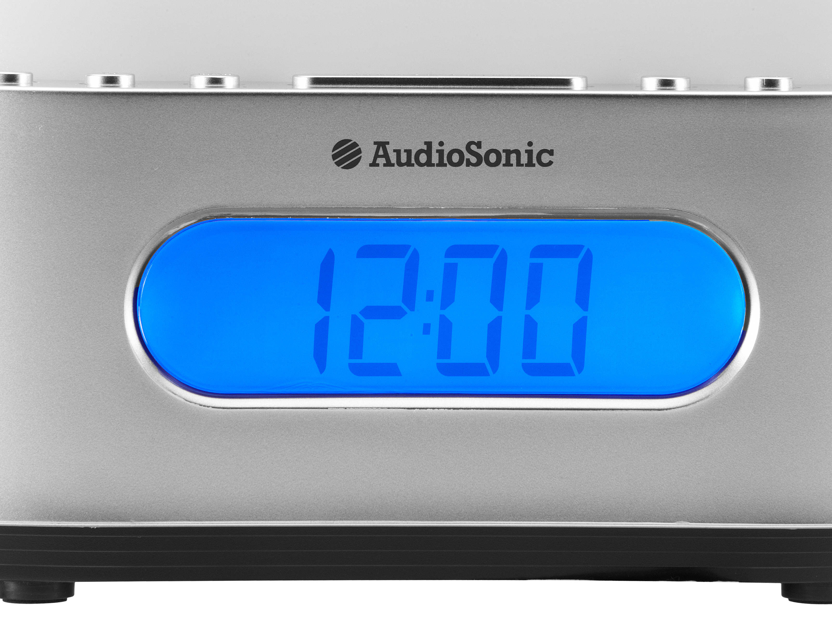 AudioSonic CL-505 Orologio Digitale Argento radio