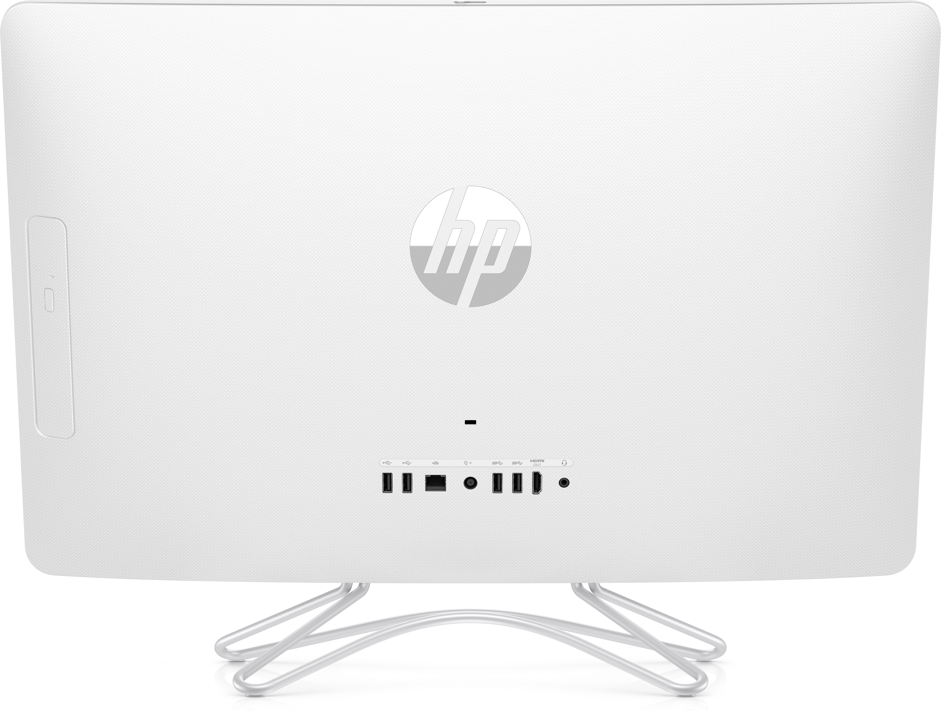 "HP 24-e008ny 2.5GHz i5-7200U 23.8"" 1920 x 1080Pixel Touch screen Bianco PC All-in-one"