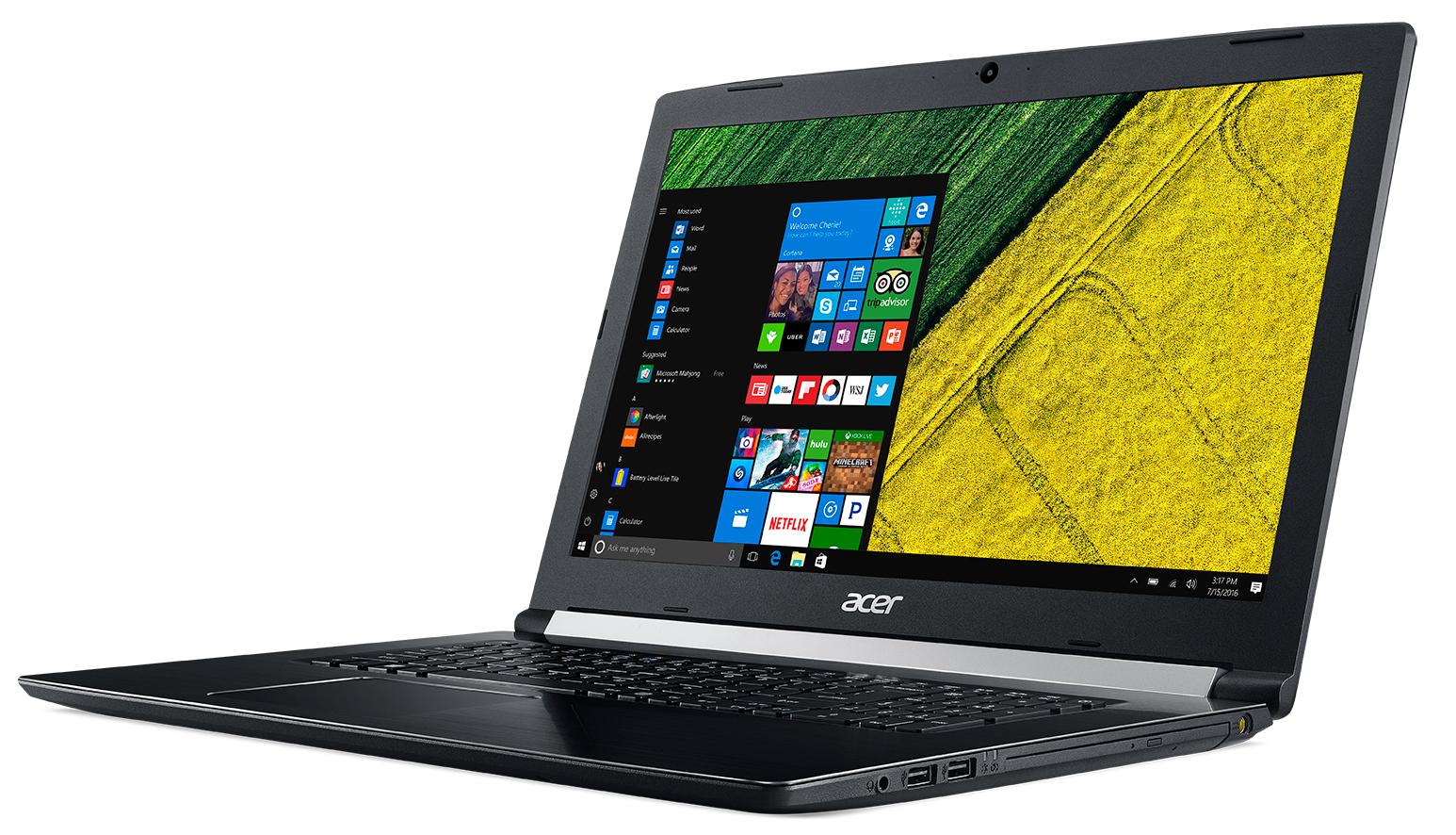 "Acer Aspire 5 Pro A517-51P-80AG 1.8GHz i7-8550U 17.3"" 1920 x 1080Pixel Nero Computer portatile"