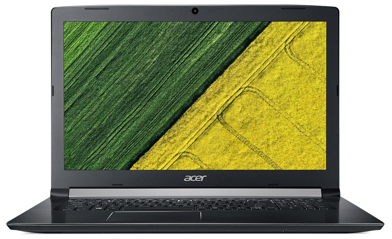 "Acer Aspire A517-51G-38SY 2GHz i3-6006U 17.3"" 1920 x 1080Pixel Nero Computer portatile"