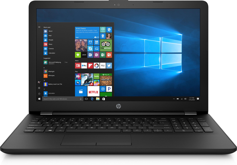 """HP 15-bw014ax 3GHz A9-9420 15.6"""" 1366 x 768Pixel Nero Computer portatile"""