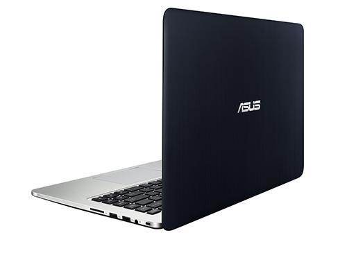 "ASUS K401LB-FR119D 2.2GHz i5-5200U 14"" 1920 x 1080Pixel Blu, Argento Computer portatile notebook/portatile"