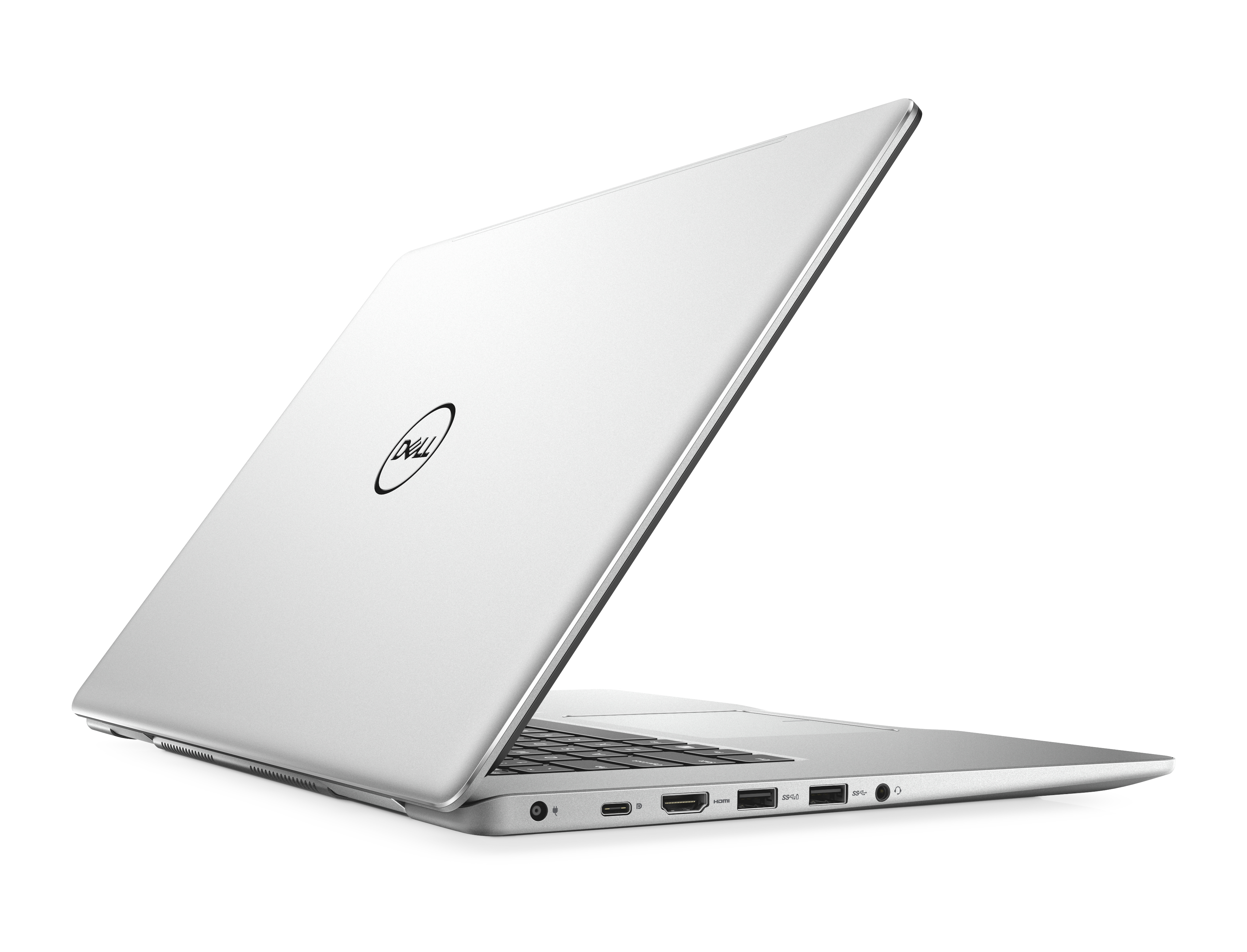 "DELL Inspiron 7570 1.8GHz i7-8550U 15.6"" 3840 x 2160Pixel Touch screen Platino, Argento Computer portatile"