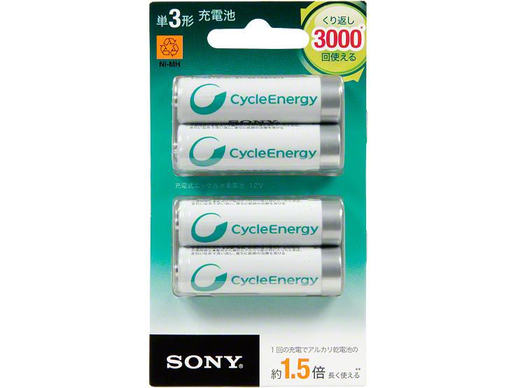 Sony NH-AA-4BRA Nichel-Metallo Idruro (NiMH) 1000mAh 1.2V batteria ricaricabile