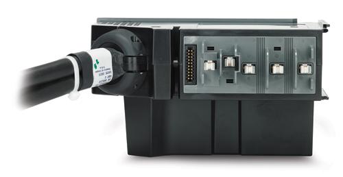 APC PDM2332IEC-3P30R-1 Nero, Blu unità di distribuzione dell