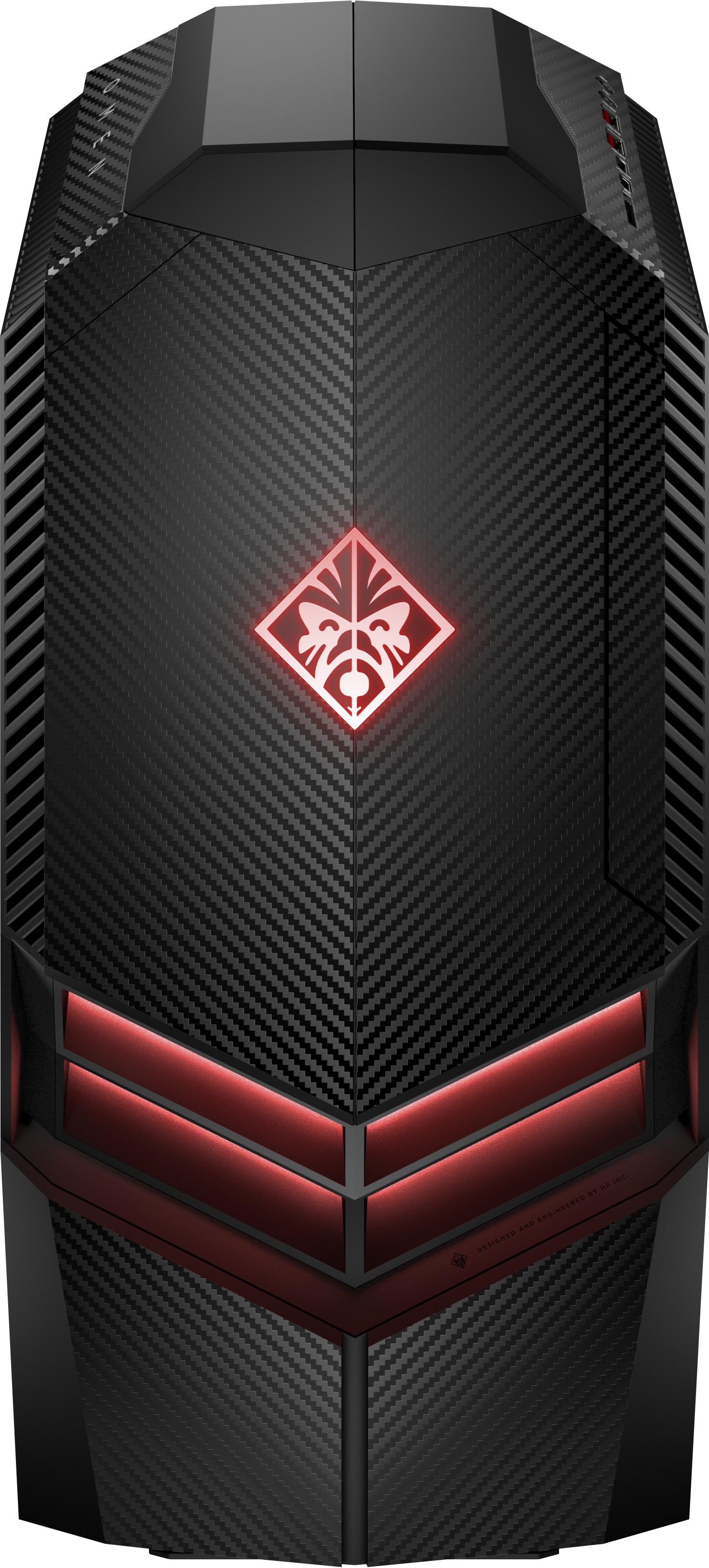 HP OMEN 880-184jp 3.7GHz i7-8700K Scrivania Nero PC