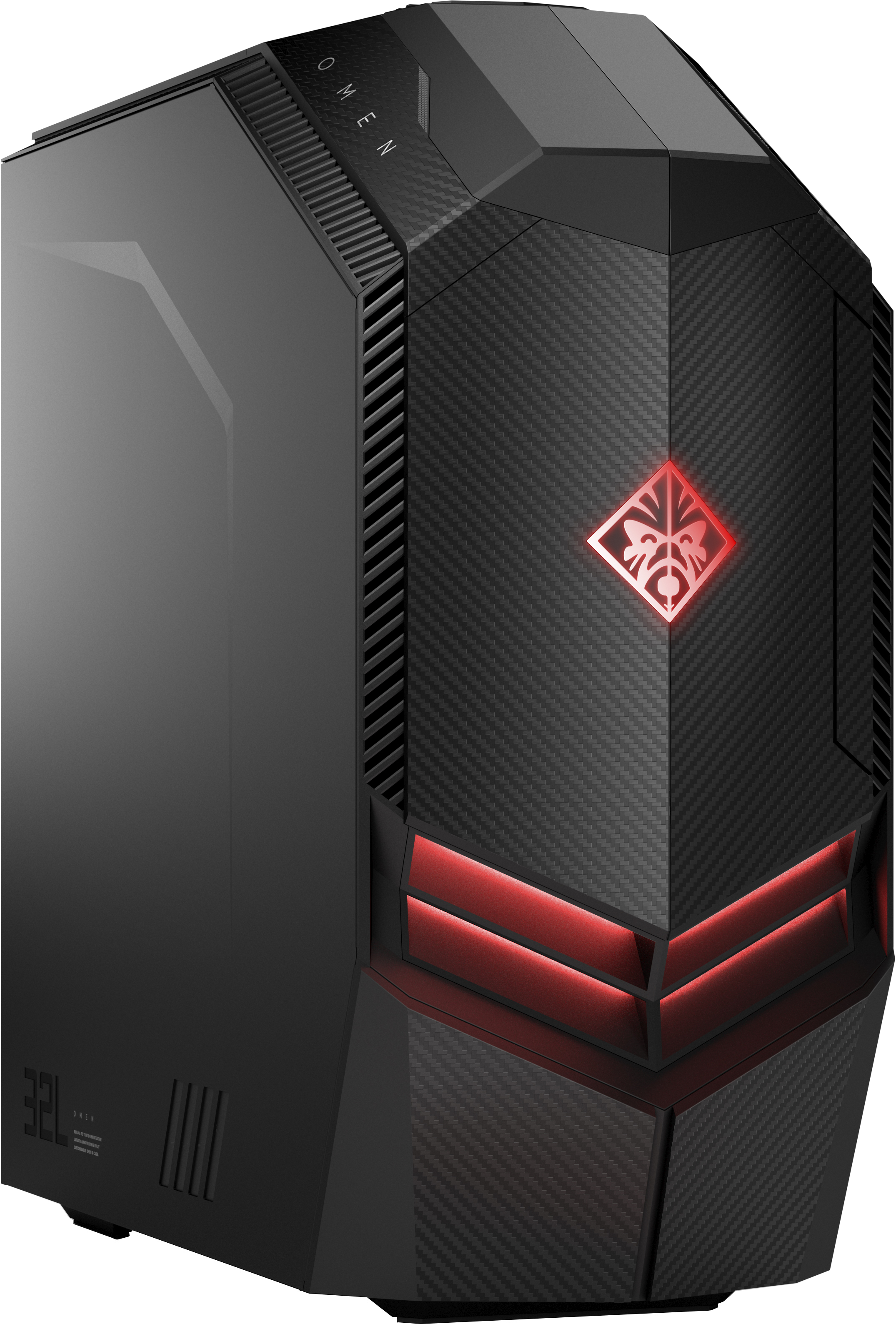 HP OMEN 880-175hk 3.7GHz i7-8700K Scrivania Nero PC