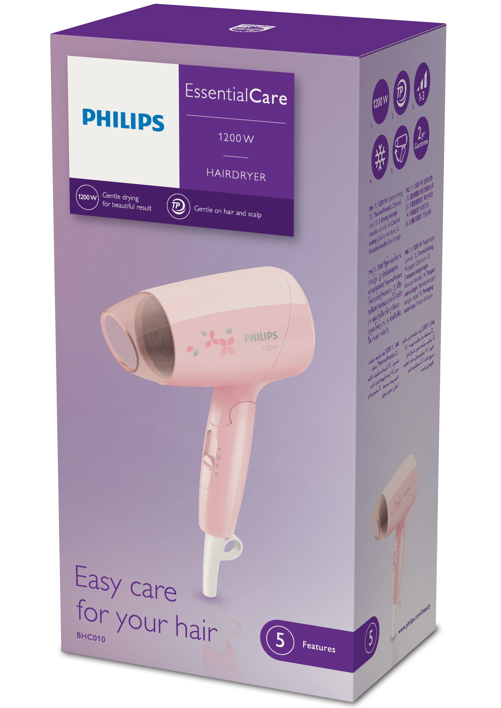 Philips Essential Care Asciugacapelli BHC010/00