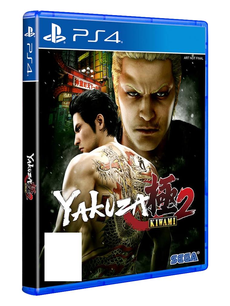 Sony Yakuza Kiwami 2, PlayStation 4 videogioco