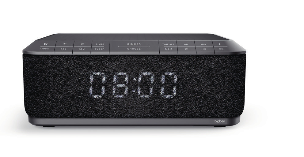 Bigben Interactive RR140IGDAB Orologio Digitale Nero radio