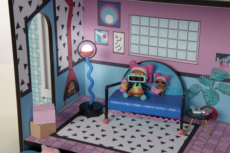 L.O.L. Surprise! House Plastica casa per le bambole