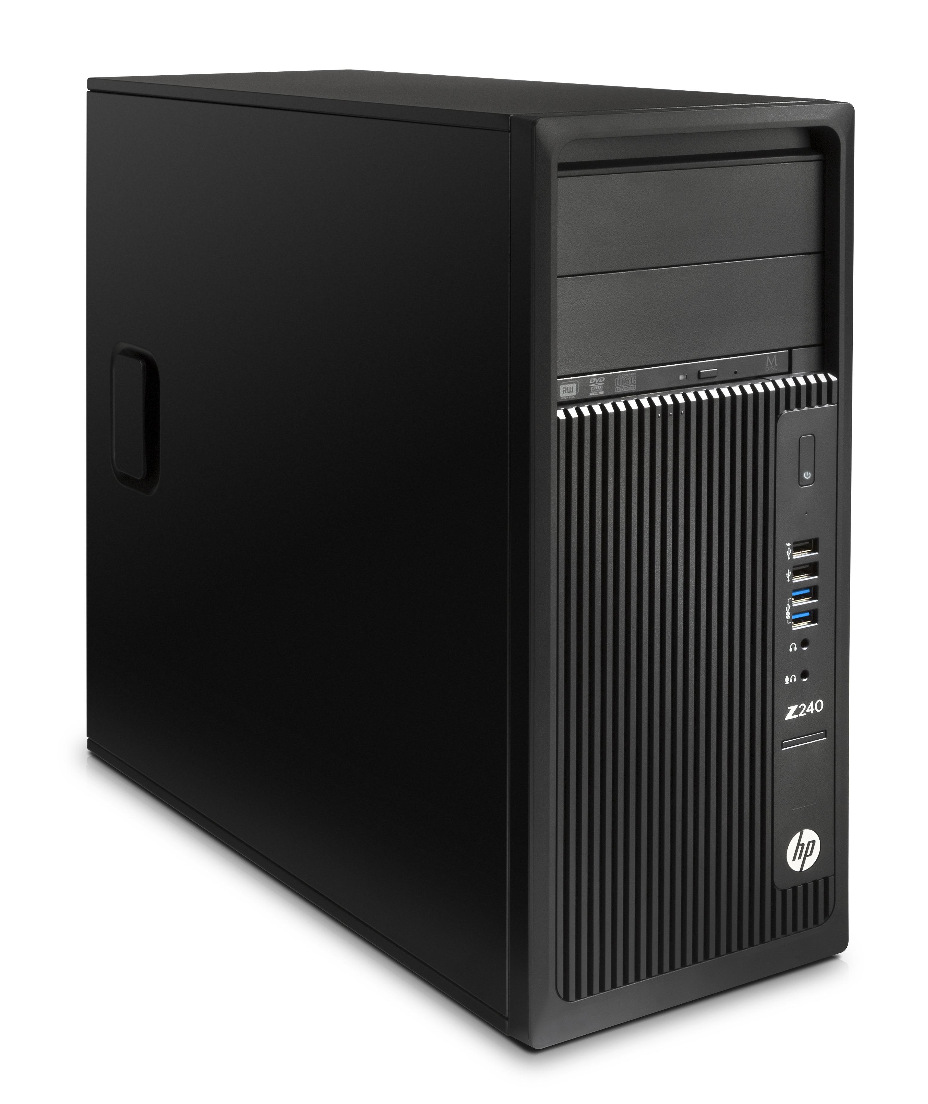 HP Z240 Tower + Zero-X Raven+ Drone 3.3GHz E3-1225V5 Torre Intel® Xeon® E3 v5 Nero Stazione di lavoro
