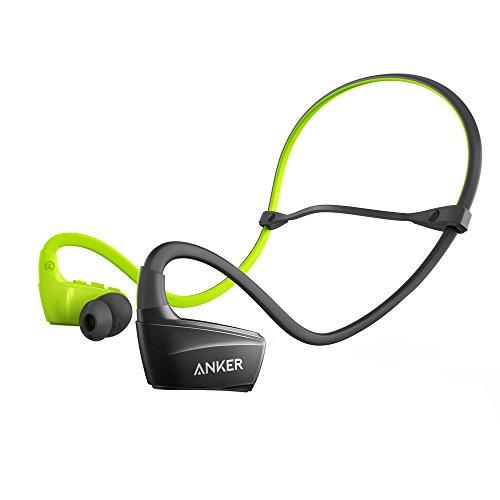 Anker NB10 Aggancio, Auricolare Stereofonico Senza fili Nero, Verde auricolare per telefono cellulare