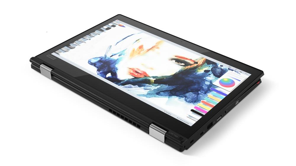"""Lenovo ThinkPad L380 Yoga 1.6GHz i5-8250U Intel® CoreT i5 di ottava generazione 13.3"""" 1920 x 1080Pixel Touch screen Nero Ibrido (2 in 1)"""