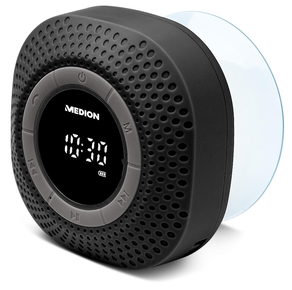 MEDION E66554 Portatile Digitale Nero radio