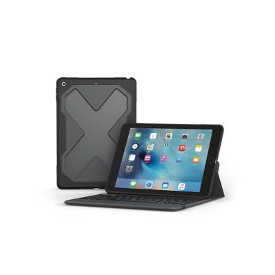 "ZAGG Rugged Messenger. Keyboard language: German. Brand compatibility: Apple, Compatibility: Apple iPad 9.7"", Product colo"