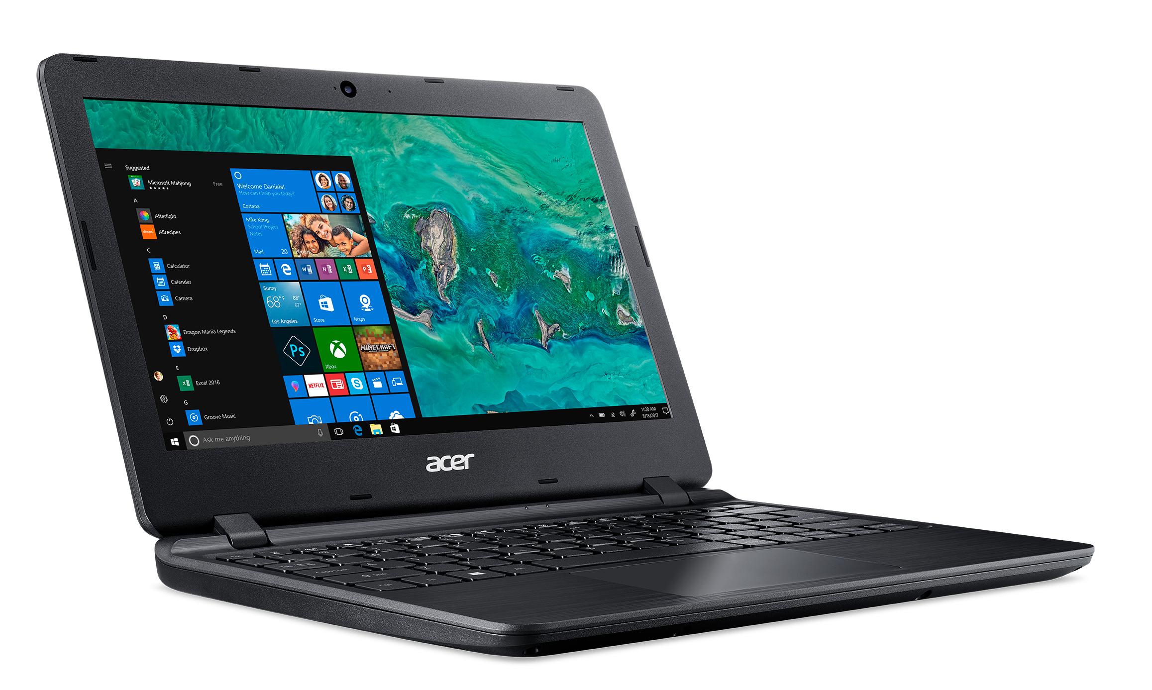 """Acer Aspire 1 A111-31-C1XB Nero Computer portatile 29,5 cm (11.6"""") 1366 x 768 Pixel 1,1 GHz Intel® Celeron® N4000"""