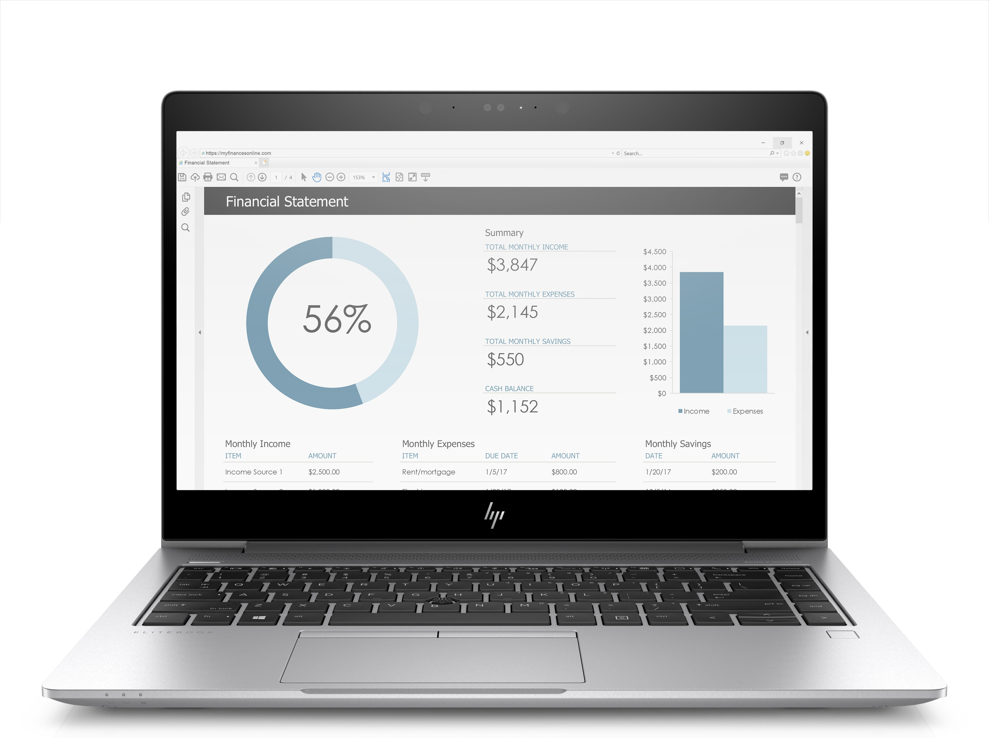 """HP EliteBook 1040 G4 Argento Computer portatile 35,6 cm (14"""") 1920 x 1080 Pixel 2,5 GHz Intel® CoreT i5 di settima generazione i5-7200U 3G 4G"""
