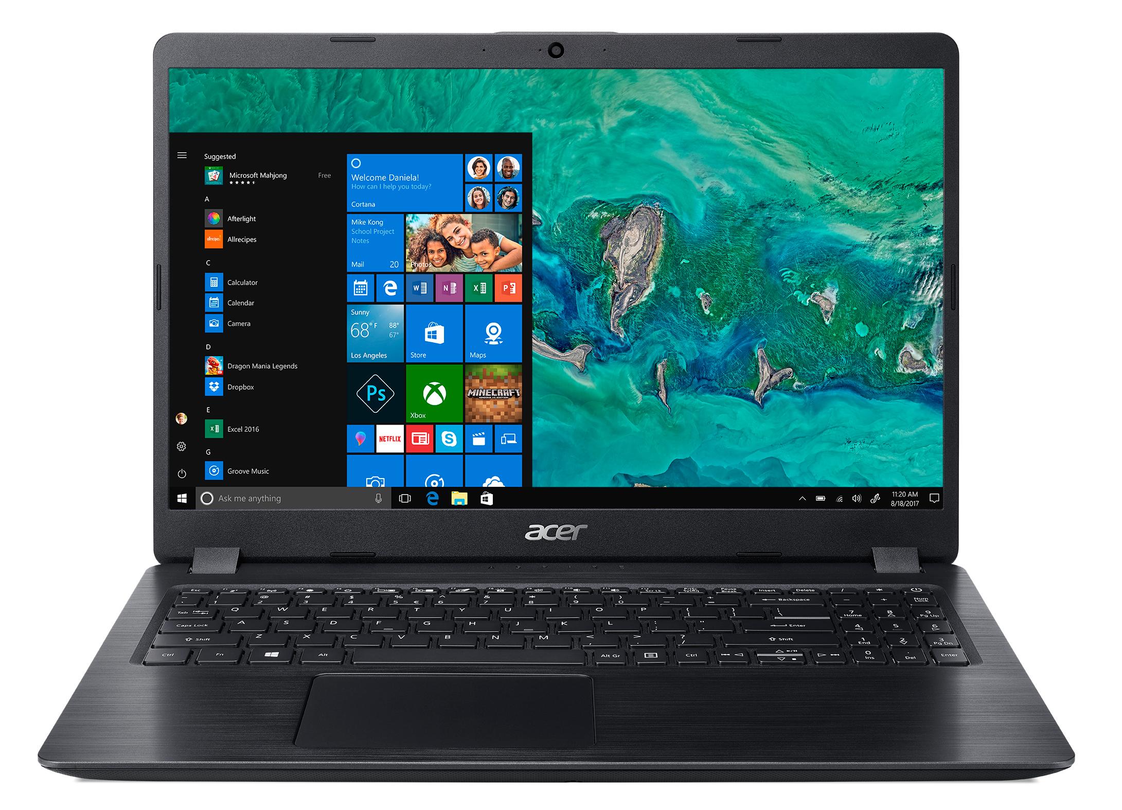 """Acer Aspire 5 A515-52-5981 Nero Computer portatile 39,6 cm (15.6"""") 1920 x 1080 Pixel 1,6 GHz Intel® CoreT i5 di ottava generazione i5-8265U"""