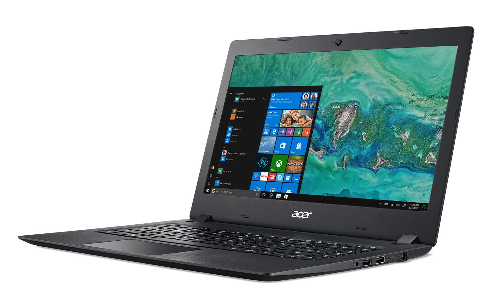 """Acer Aspire 1 A114-31-C471 Nero Computer portatile 35,6 cm (14"""") 1366 x 768 Pixel 1,1 GHz Intel® Celeron® N3350"""