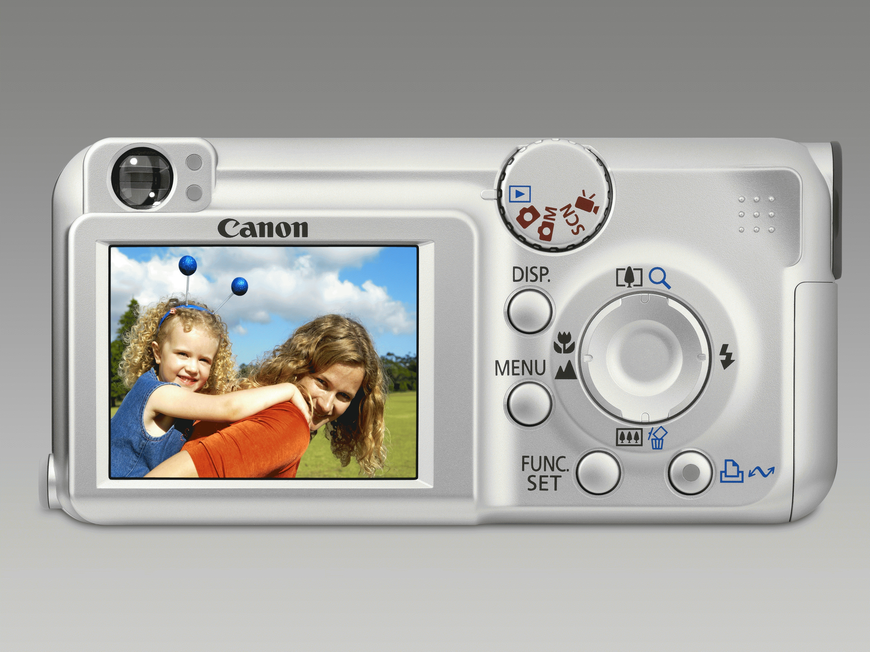 "Canon PowerShot A460 5MP 1/3"" CCD Argento"