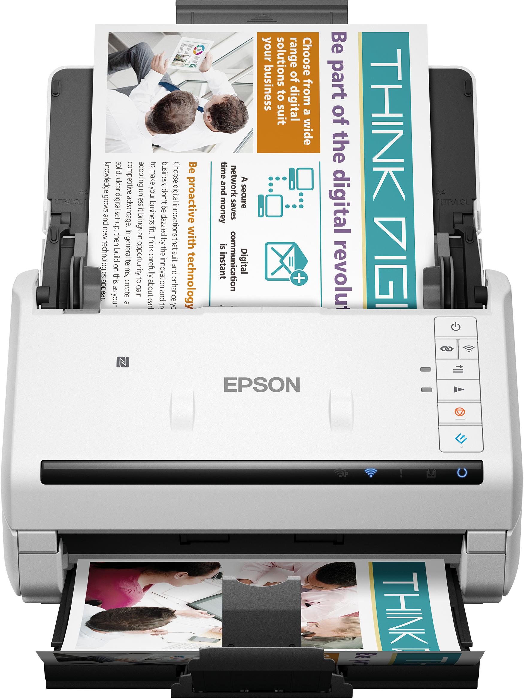 WorkForce DS-570W Power PDF