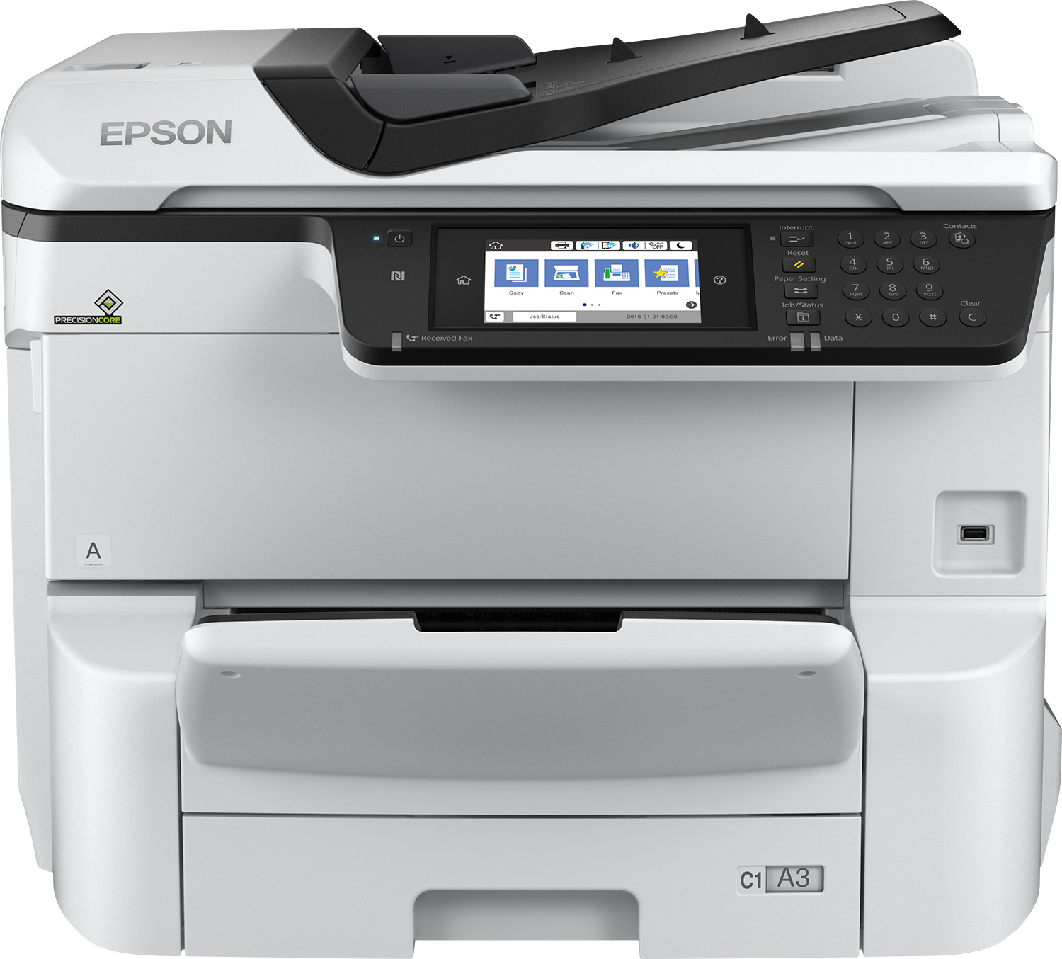 WorkForce Pro WF-C8690DWF Power PDF