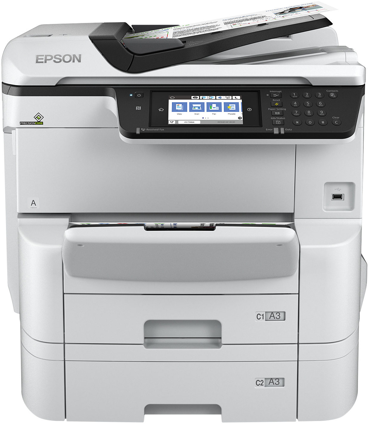 WorkForce Pro WF-C8690DTWF Power PDF