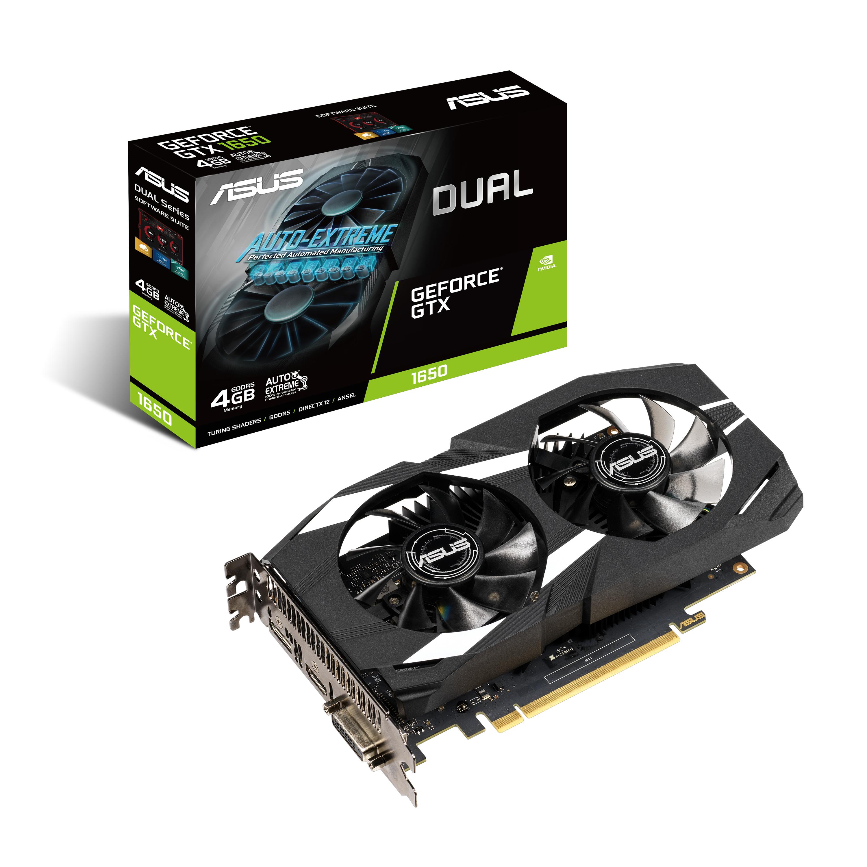 Asus GTX1650 4GB DVI/HDMI/DP
