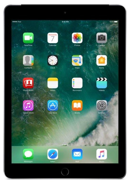 iPad (2017) 128GB Wifi only Space Grey