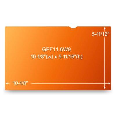 """3M GPF11.6W9 Filtro Privacy Oro per computer portatile widescreen 11.6"""""""