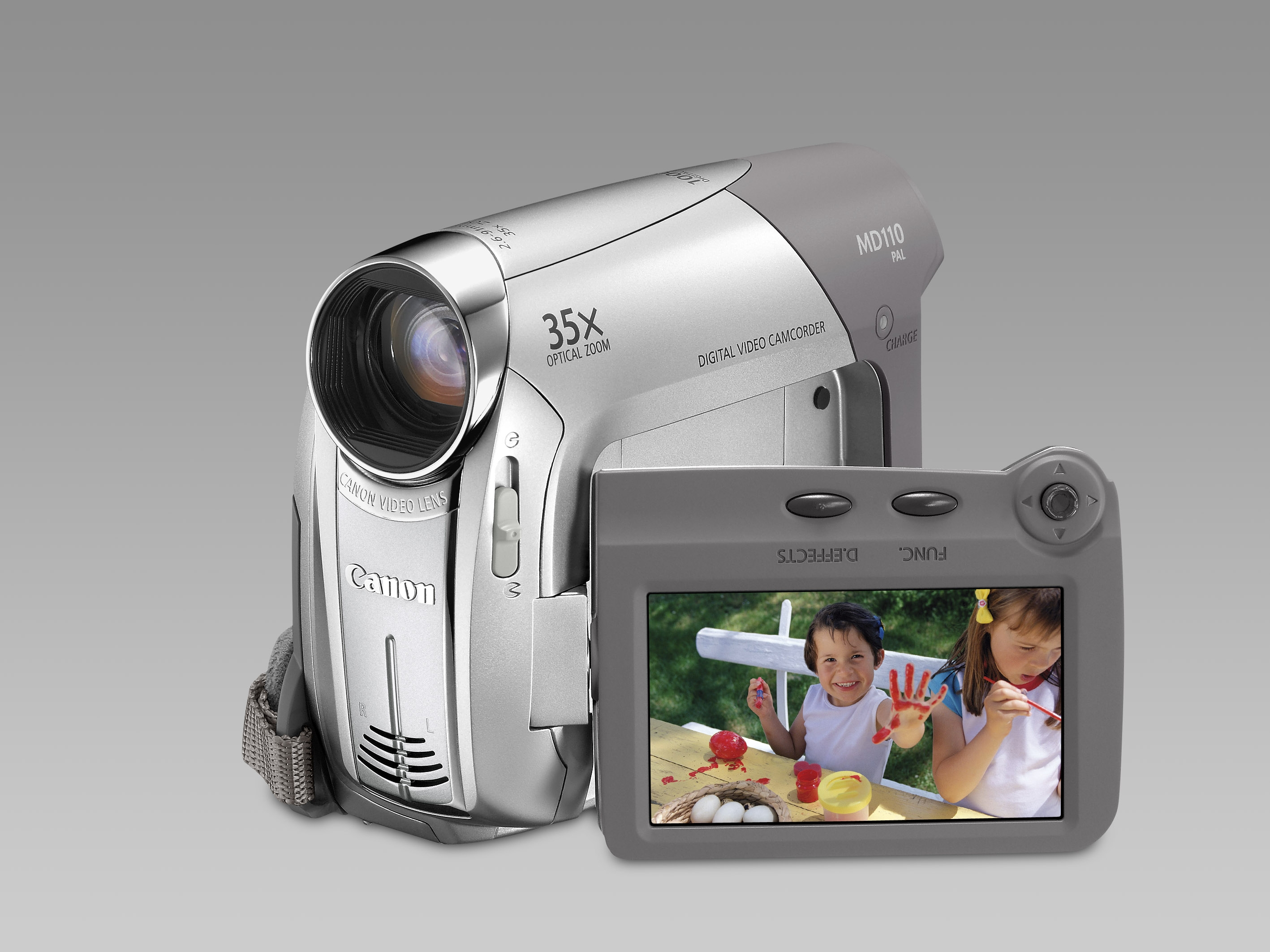 Canon MD110 Camcorder 0.8MP Argento