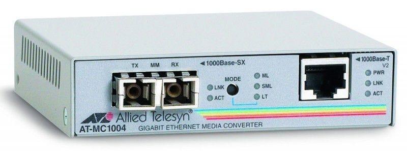 Allied Telesis 1000T to 1000SX (SC) converter 1Mbit/s 850nm convertitore multimediale di rete