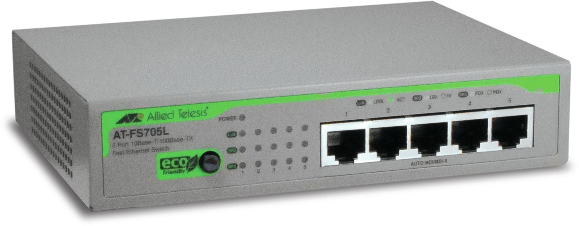 Allied Telesis AT-FS705L-50 No gestito