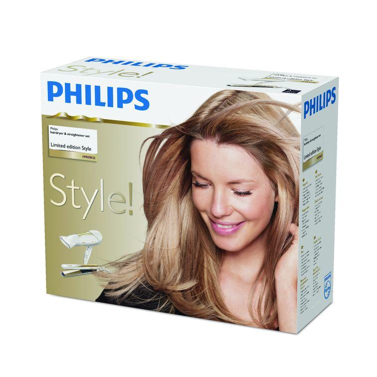 Philips Asciugacapelli e piastra HP8298/22
