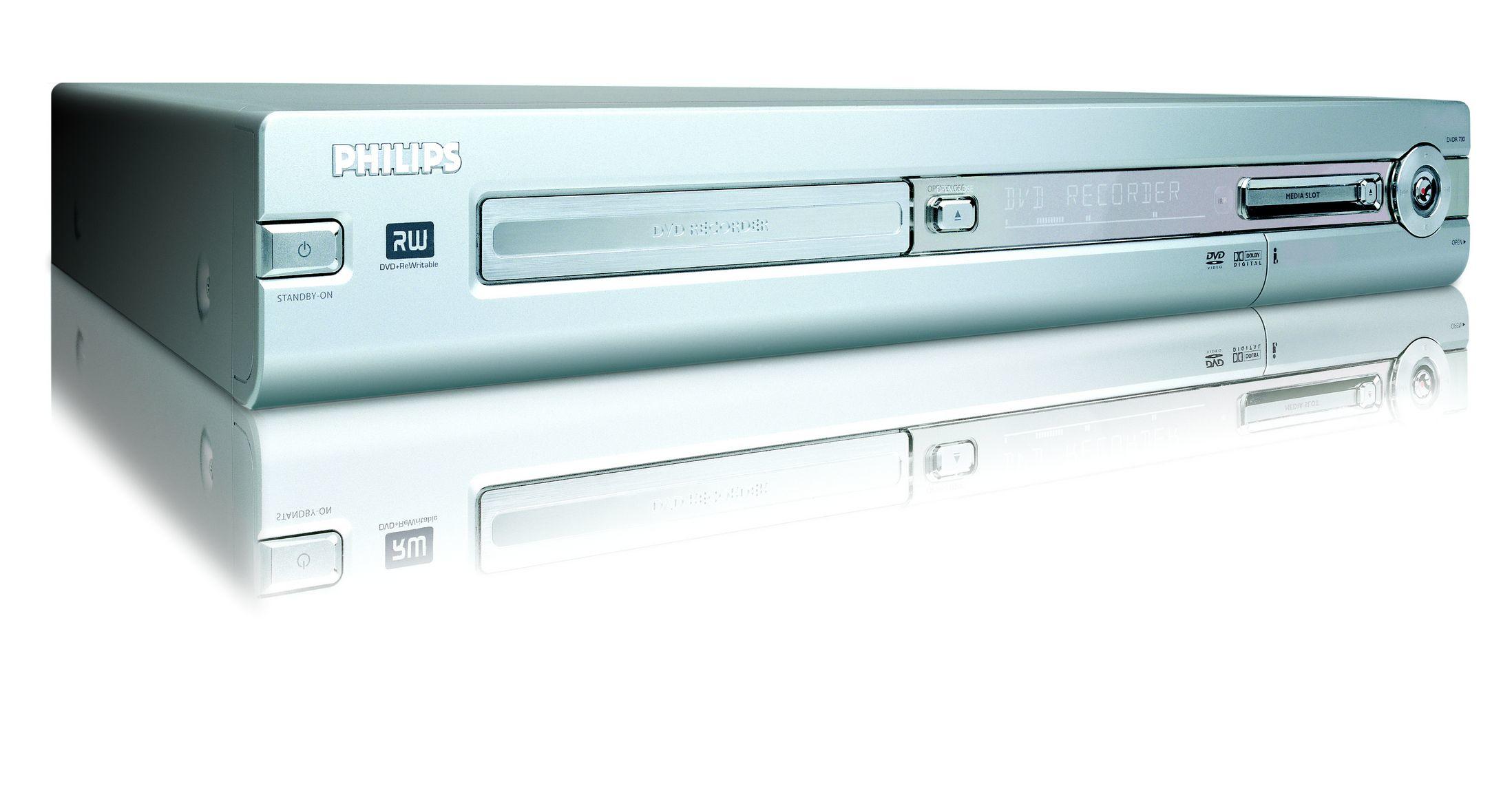 Philips DVDR730/00 lettore e registratore DVD