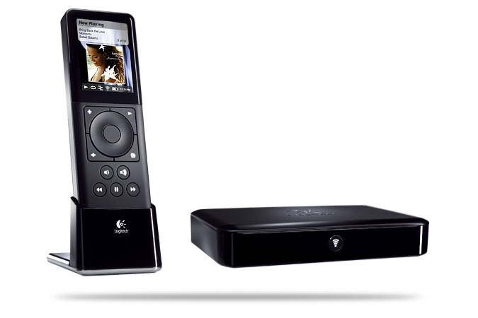 Logitech Squeezebox Duet Nero controller audio multistanza