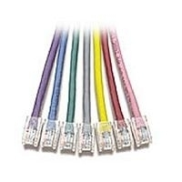 V7 Patch Cables RJ45M/M (UTP) Red, 3m 3m Rosso cavo di rete