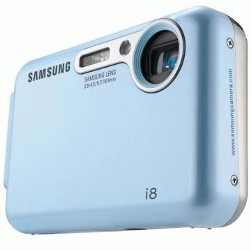 """Samsung i i8 8.2MP 1/2.5"""" CCD 3264 x 2448Pixel Blu"""
