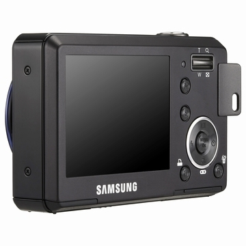 "Samsung L77 7.1MP 1/2.5"" CCD Nero"