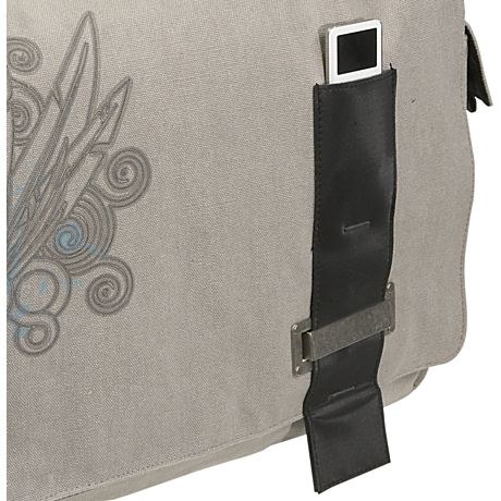 "Case Logic 15.4"" Canvas Messenger Bag 15.4"" Borsa da corriere Verde"