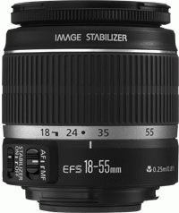 Canon EOS 450D/ES + EF-S 18-55mm f/3.5-5.6 IS Kit fotocamere SLR 12.2MP CMOS 4272 x 2848Pixel Nero